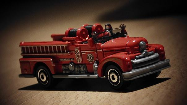 Seagrave, Fire Truck, Fire Engine, Emergency Vehicle