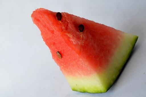 Watermelon, Seeds, Melon, Cut, Fruits, Sliced, Red