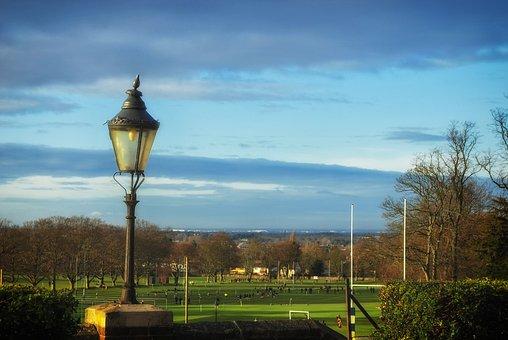 Epsom College, England, Great Britain, Trees, Sky