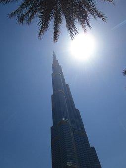 Burj Khalifa, Skyscraper, Dubai, U A E