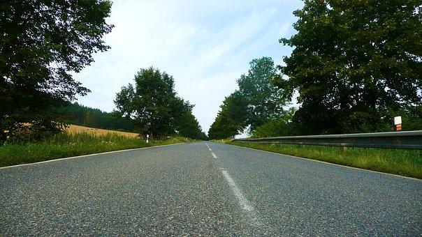 Road, Street, Driving, Straight, Travel, Way