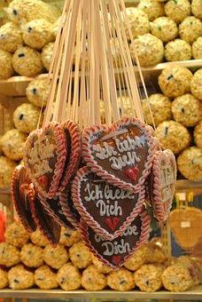 Chocolate, Sweet, Funfair, German, Sugar
