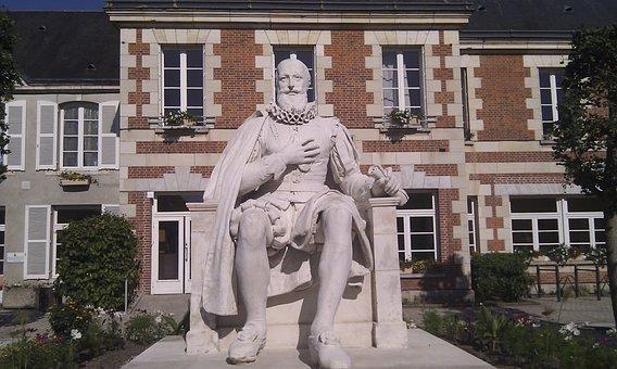 Statue, Stain, Sully On Loire, Loiret