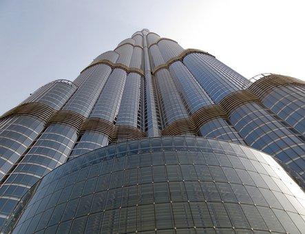 Burj Khalifa, Dubai, Tallest Building, Skyscraper