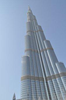 Burj Khalifa, Tallest Building, Tower Block, Dubai