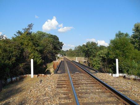 Railroad, Tracks, Transportation, Train, Transport