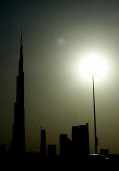 Dubai, Burj Khalifa, Skyscraper, U A E