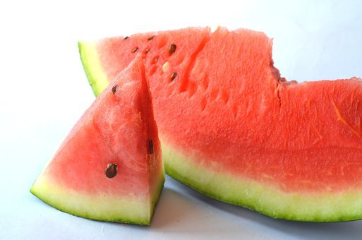 Watermelon, Melon, Cut, Slice, View, Fruit, Red, Sweet