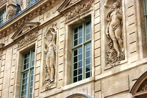 Facade, Window, To Sully Hotel, Paris, Architecture