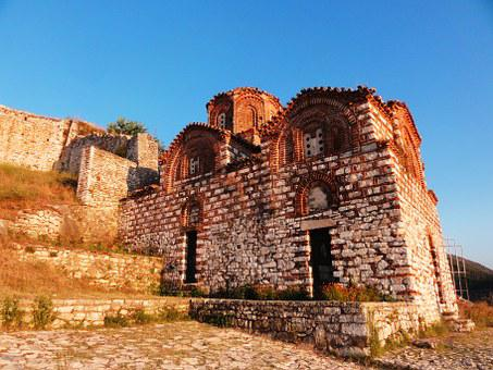 Shen Triadha, Church, Berat, Balkans, Albanian