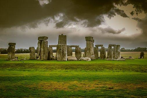 Stonehenge, Amesbury, 2600 Bc, Historic Place, England