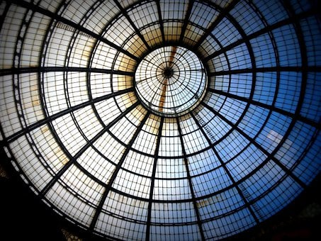 Window, Circle, Milan, Architecture, Round, Glass