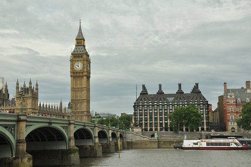 Big Ben, Elizabeth Tower, London, Uk, United Kingdom
