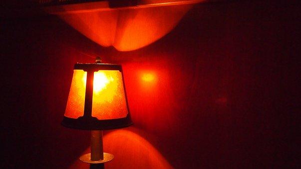 Warm, Lamp, Light, Bright, Illuminated, Soothing
