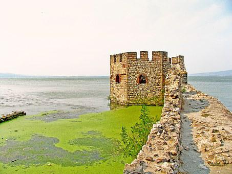 Fortress, Danube, Old, Europe, Travel, River, Building