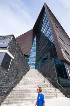 Architecture, University, Home, Building, Facade, Glass
