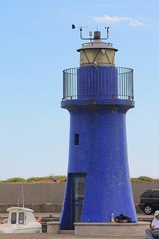 Tuscany, Castiglione, Lighthouse, Sea, Summer, Blue