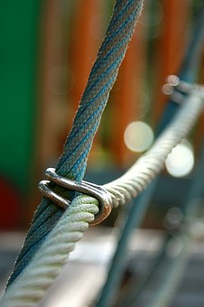 Rope, Wire, Bind, Connect, Locked, Link, Curb