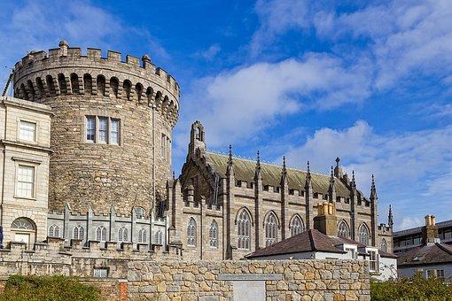 Dublin, Castle, Ireland, Monument, Church, Ancient