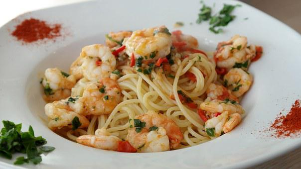 Spaghetti, Pasta, Noodles, Food, Eat, Cook, Plate