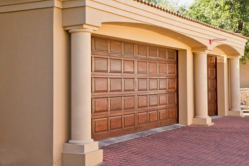Real-estate, Garage, Doors, Home, Architecture