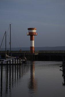 Lighthouse, Eckernförde, Daymark, Harbour Entrance