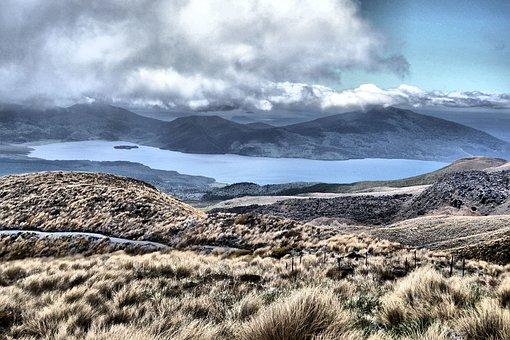 Tongariro, Hike, Landscape, Mount, New Zealand