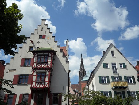 House, Building, Fachwerkhaus, Ulm, Historic Center