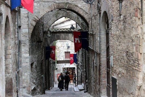 Narni, Narnia, Medieval Festival, Italy, Country