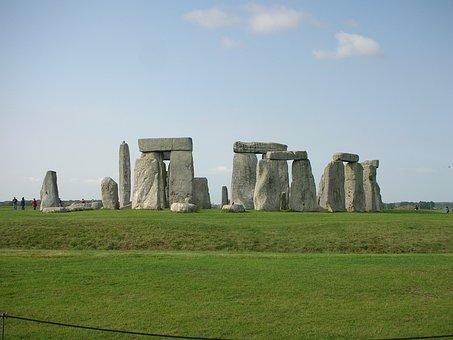 Stonehenge, Megalithic Stone Circle, Cromlech, Mystic