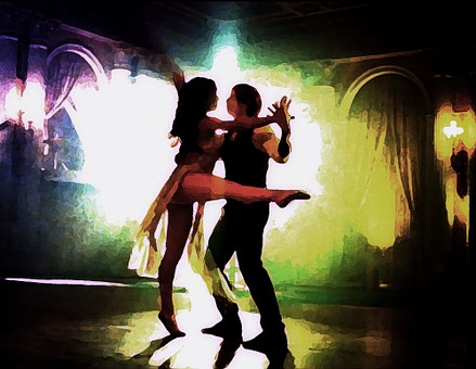 Dance, Sport, Movement, Pair, Steps, Human, Figures
