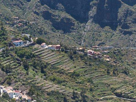 Masca, Plantations, Steep Slope, Village, Terraces