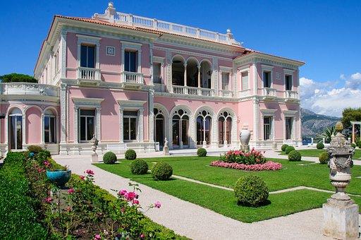 Villa, Ephrussi, Rothschild, France, Property