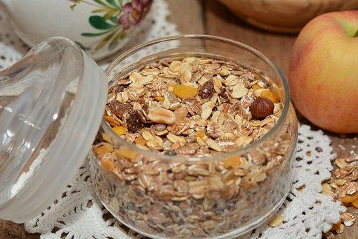 Muesli, Breakfast Cereal, Raisins, Breakfast, Healthy