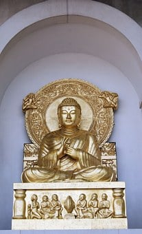 London Peace Pagoda, Buddha, Religion, Sculpture