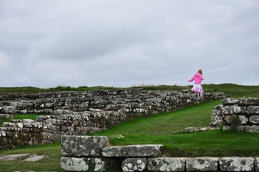 England, Hadrian's Wall, Housesteads, Roman, Fort