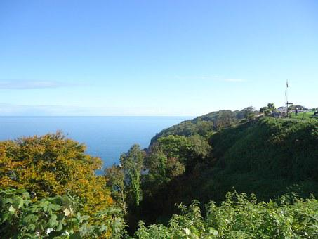Babbacombe, Devon, Seaside, Landscape, Scenery, Beach