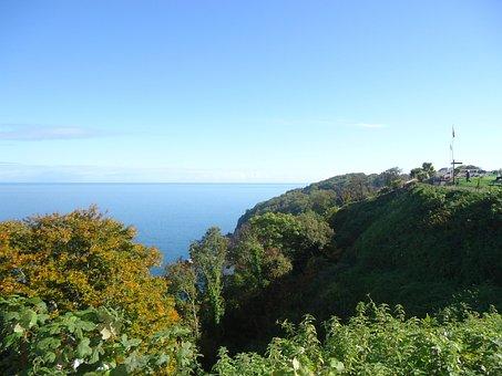 Babbacombe, Devon, Seaside, Landscape, Scenery, Beach