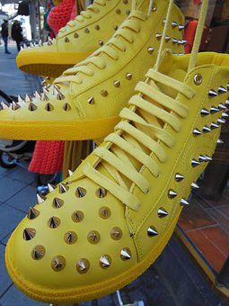 Yellow Boots, Sports Boots, Fashion, Spring Fashion