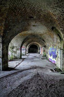 Abandoned, Graffiti, Wall, Building, Urban