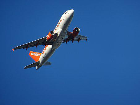 Aircraft, Easy Jet, Start, Turbine, Airliner, Take Off