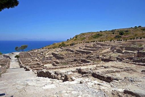 Ancient City, Greece, Rhodes Island, Kamiros
