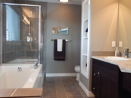 Bathroom, Shower, Tub, Room, Interior, Bathtub, Sink