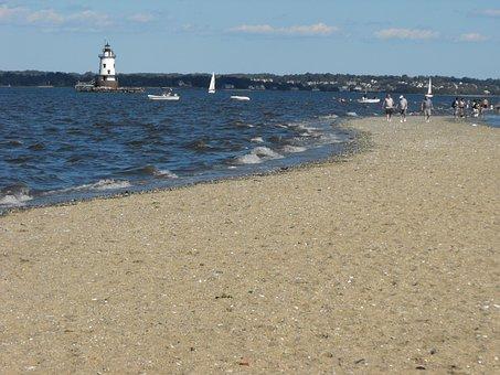 Rhode Island, Warwick, Shore, Tourism, Bay, Beach, Sea