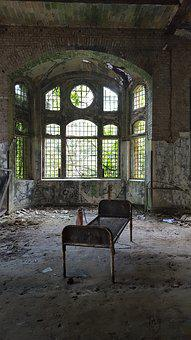 Urbex, Beelitz Heilstätten, Abandoned Hospital