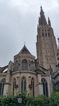 Bruges, Belgium, Canal, Brugge, Medieval, Landmark