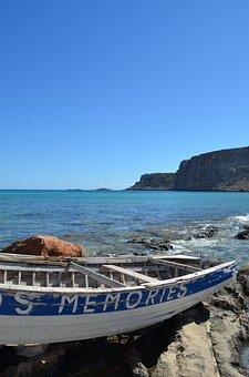 Blue Sky, Memories, Boat, Landscape, Romantic, Holidays