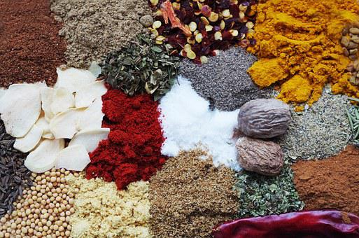 Pepper, Color, Cooking, The Smell Of, Nutmeg, Paprika