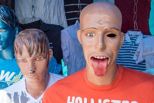 Display Dummy, Horror, Fash, Face, Creepy, Tooth, Fear