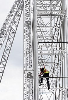 Construction, Safety, Danger, Height, Working, Building